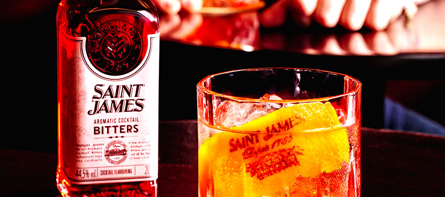 Saint James Bitters: Stephen Martin launches his own bitters