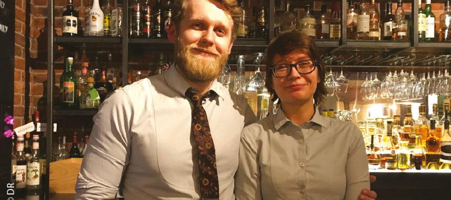 Bristol (UK) : Le bar de l'Hôtel du Vin & Bistrot d'excellents vins  mais aussi du bon rhum