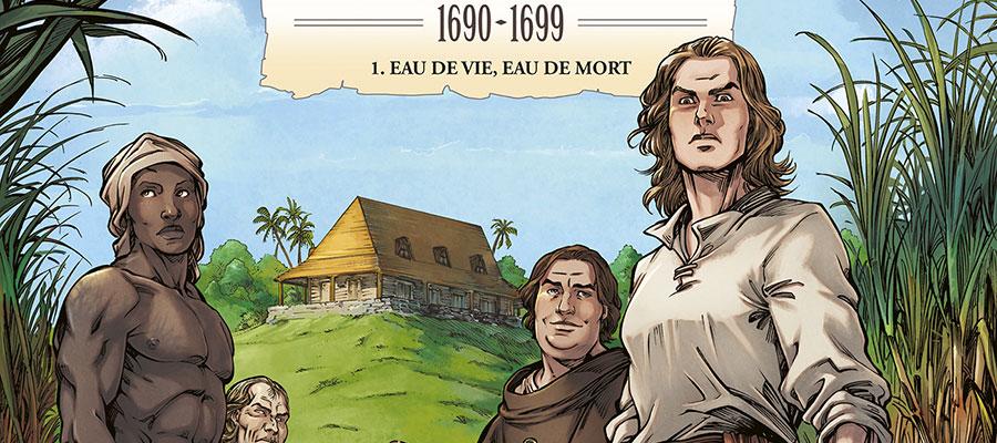 Rhum héritage, la bande dessinée sur le rhum sans concessions