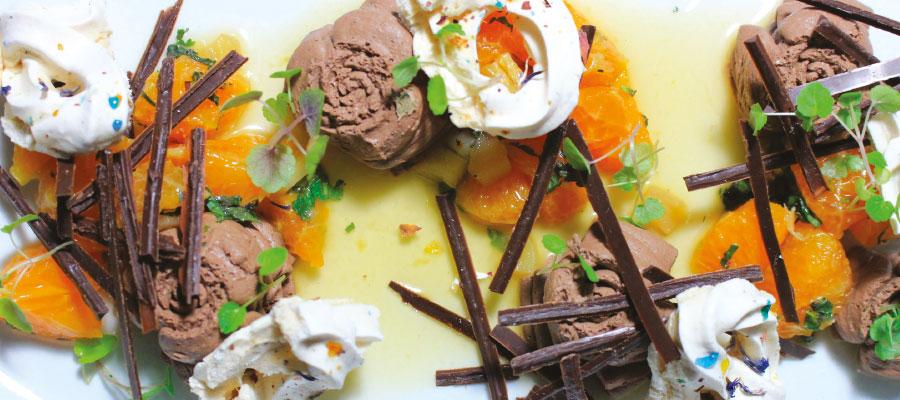 Recette à base de rhum : Mousse « Dark Chocolate »