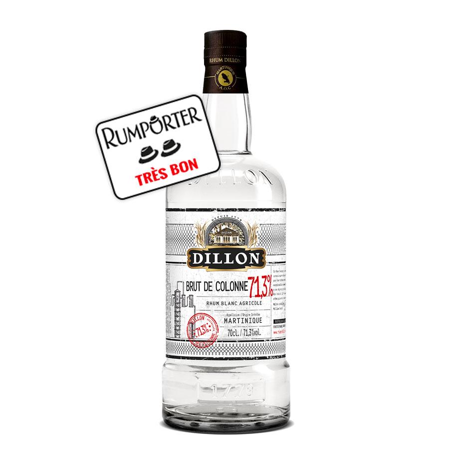 Dillon - Rhum Blanc – Brut de Colonne
