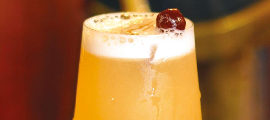 "Recette de cocktail par Yoann Demeersseman : ""Rum & Beer Sour"" au rhum El Libertad spiced rum"