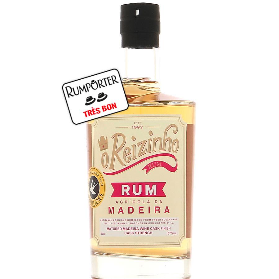 O Reizinho - Rhum agricole Gold Madeira Brut de fût