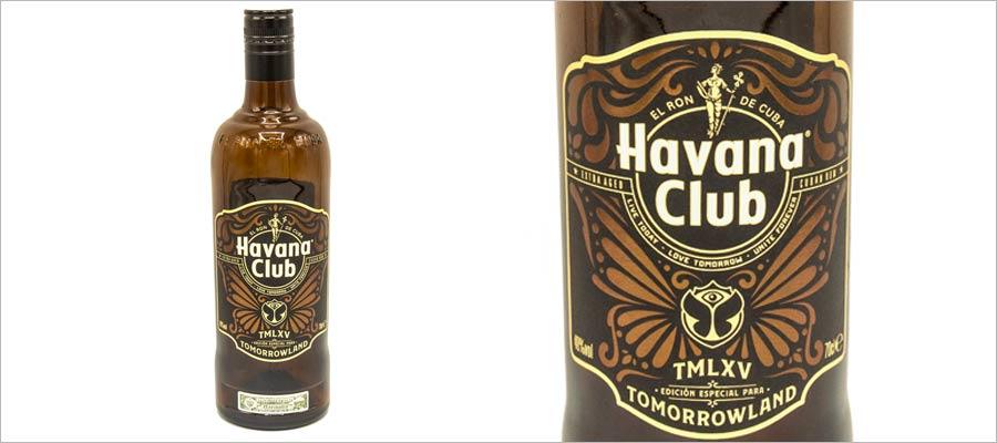 Une édition limitée Havana Club pour les 15 ans du festival Tomorrowland