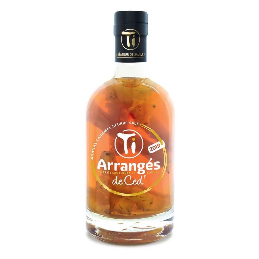 Ti Arrangés de Ced' – Ananas Caramel au beurre salé.