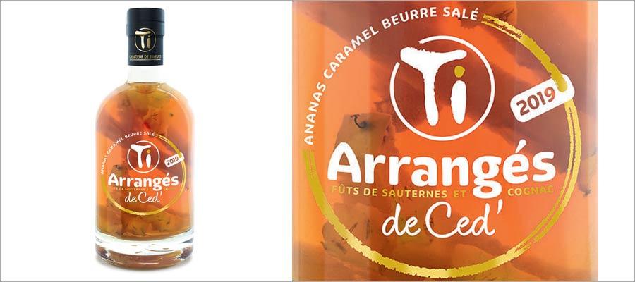 Ti Arrangés de Ced' – Ananas Caramel au beurre salé