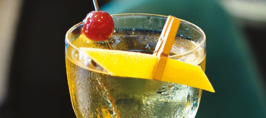 Recette de cocktail par Yoann Demeersseman : le «Golden Cocktail» au rhum Havana club Edicion profesional A