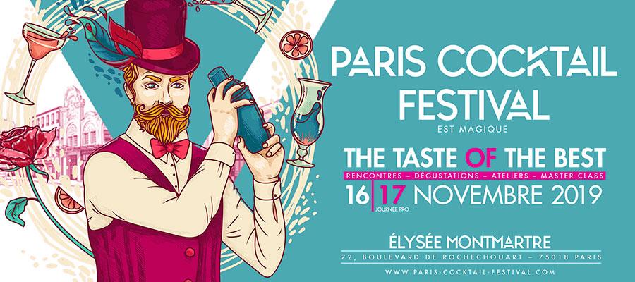 Paris Cocktails Festival 2019 : le rendez-vous incontournable de la mixologie
