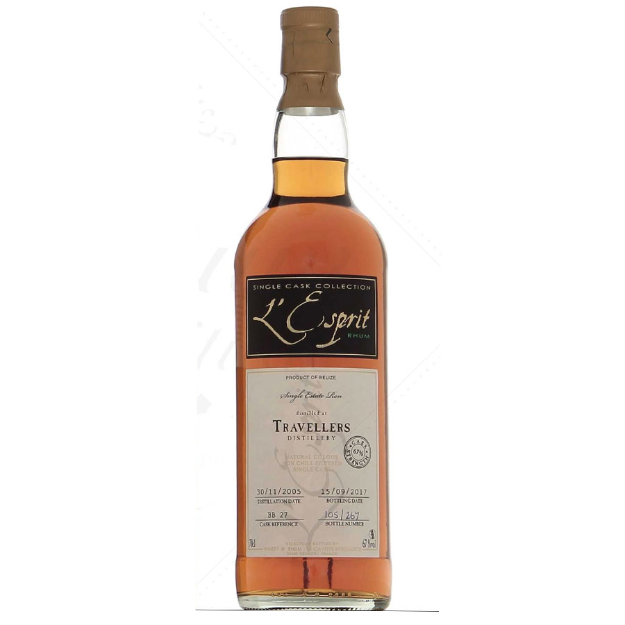L'Esprit Rhum Belize Travellers 2005 Cask Strength