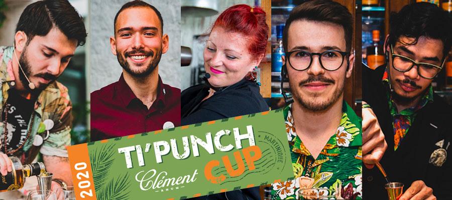 Clément Ti'Punch Cup 2020 : découvrez les finalistes et leurs recettes !