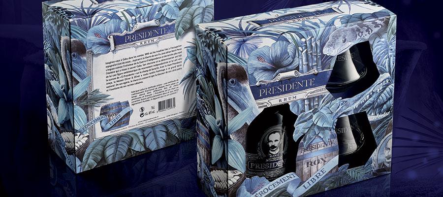 Design : un nouveau coffret pour Presidente Marti