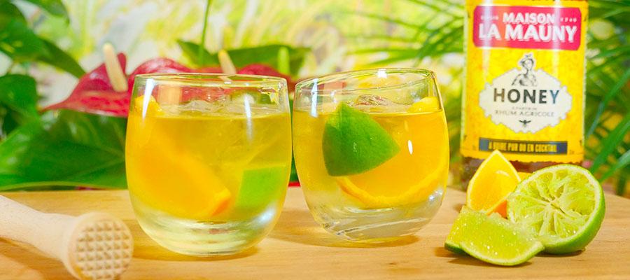 Les cocktails Maison (par) La Mauny #1 : Le Ti' Honey