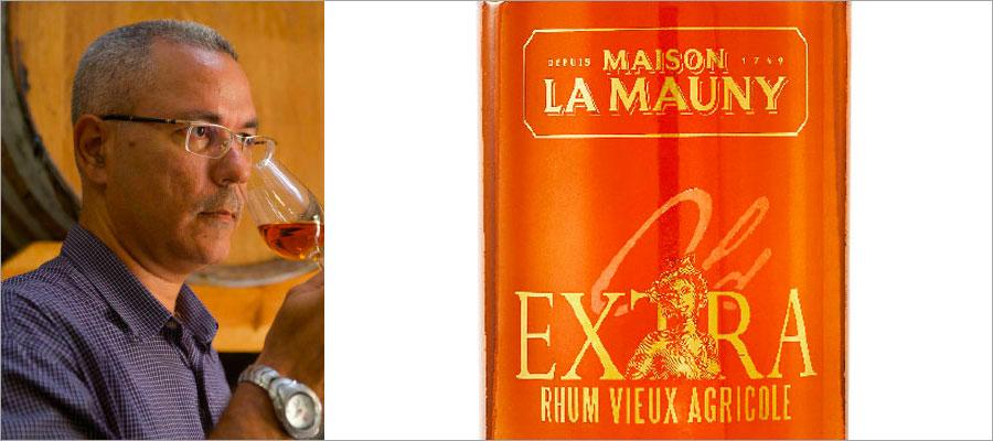 Maison La Mauny : dégustation de la cuvée Extra par Daniel Baudin