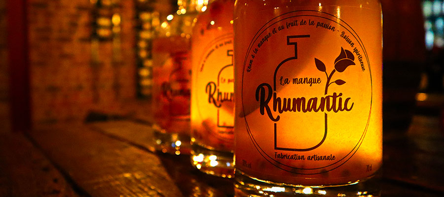 Rhumantic, le rhum arrangé made in Belgique !