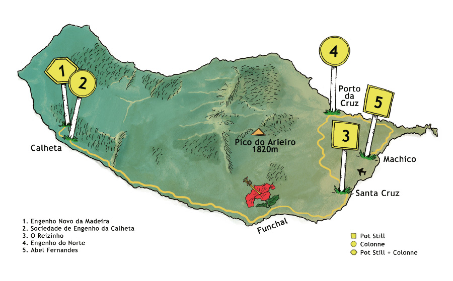 carte Madère