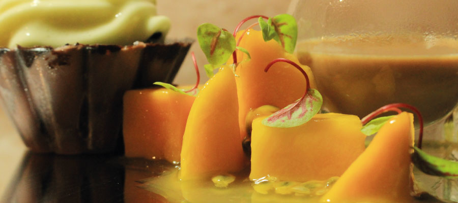 Recette à base de rhum : Tulipe au chocolat au rhum Havana Club 15 ans