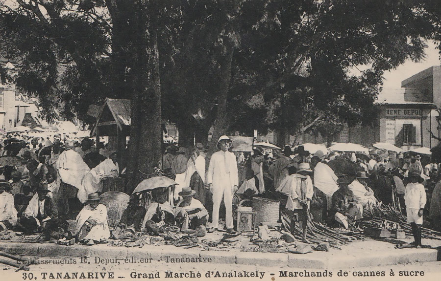 histoire du rhum à Madagascar