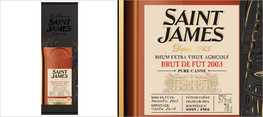 Saint James : attention, un Brut de Fût 2003 peut en cacher un autre