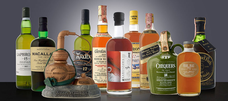 Fine Spirits Auction