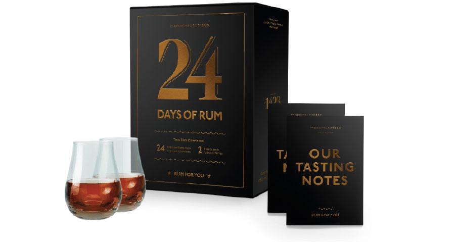 Calendrier de l'Avent 24 Days of Rum