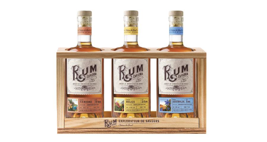 Coffret bois Rum Explorer