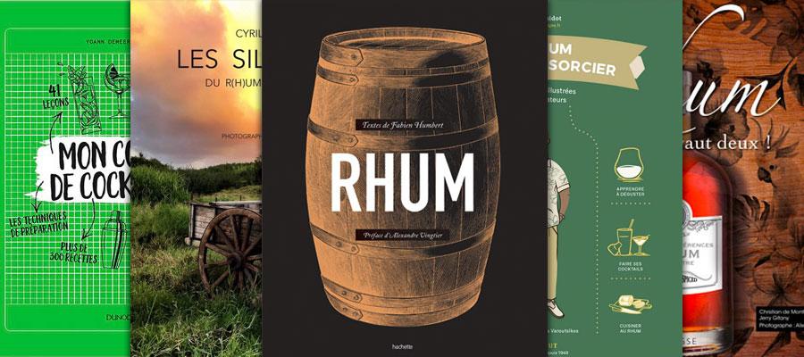 Les livres sur le Rhum à lire en 2020