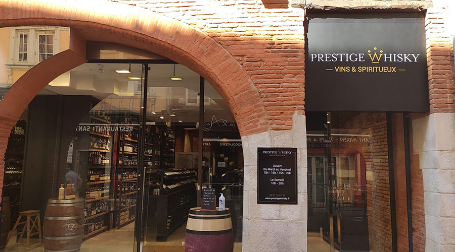 Prestige Whisky Toulouse