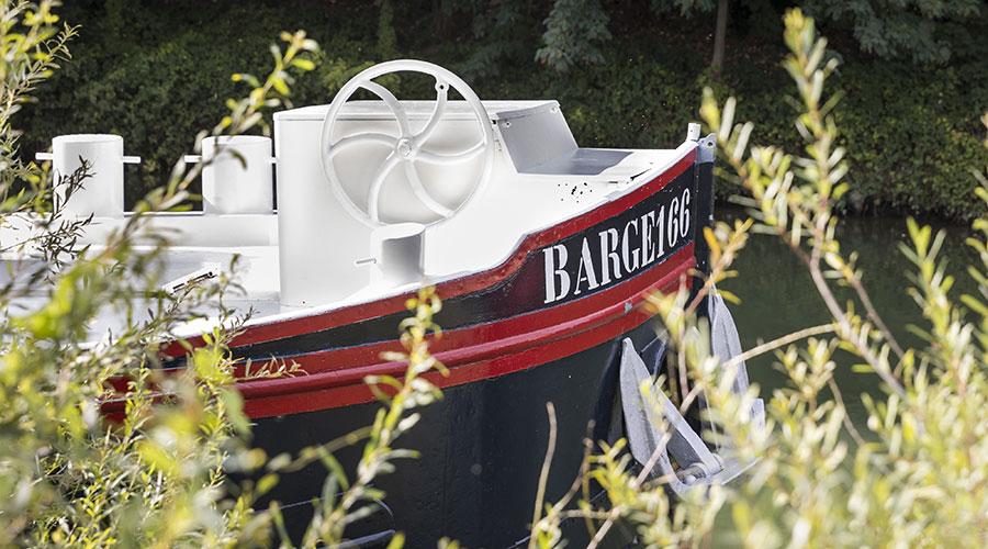 Barge 166 plantation