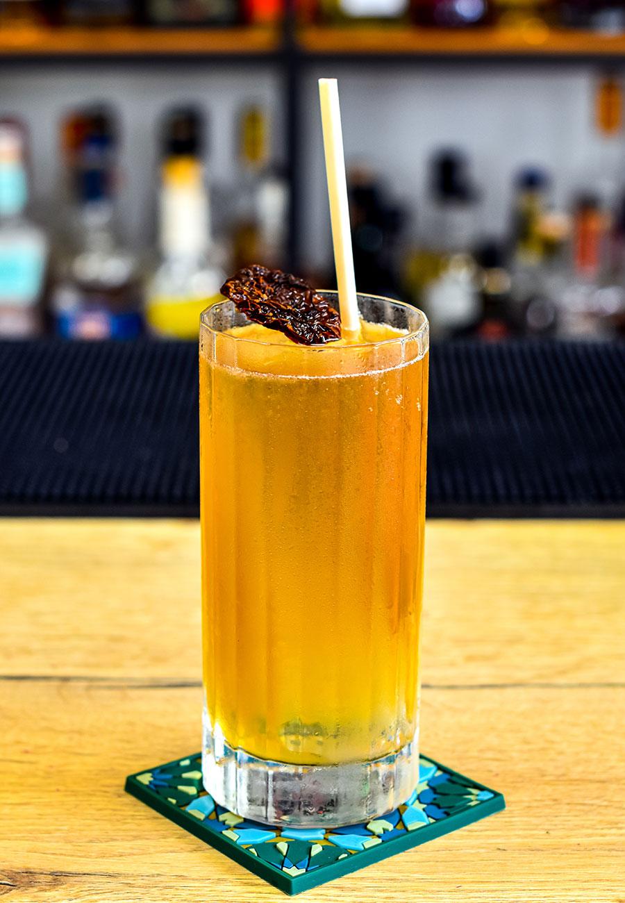 Kraken Mule cocktail